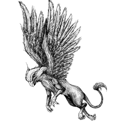 png library Flying Gryphon