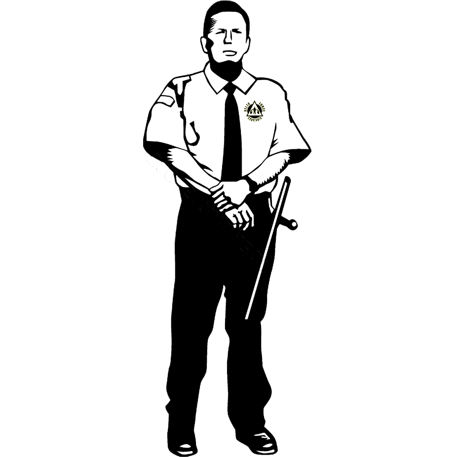 banner transparent download Security . Guard clipart black and white