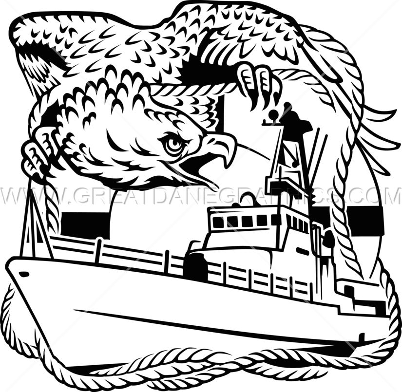 vector free download Guard clipart black and white. Coast eagle production ready