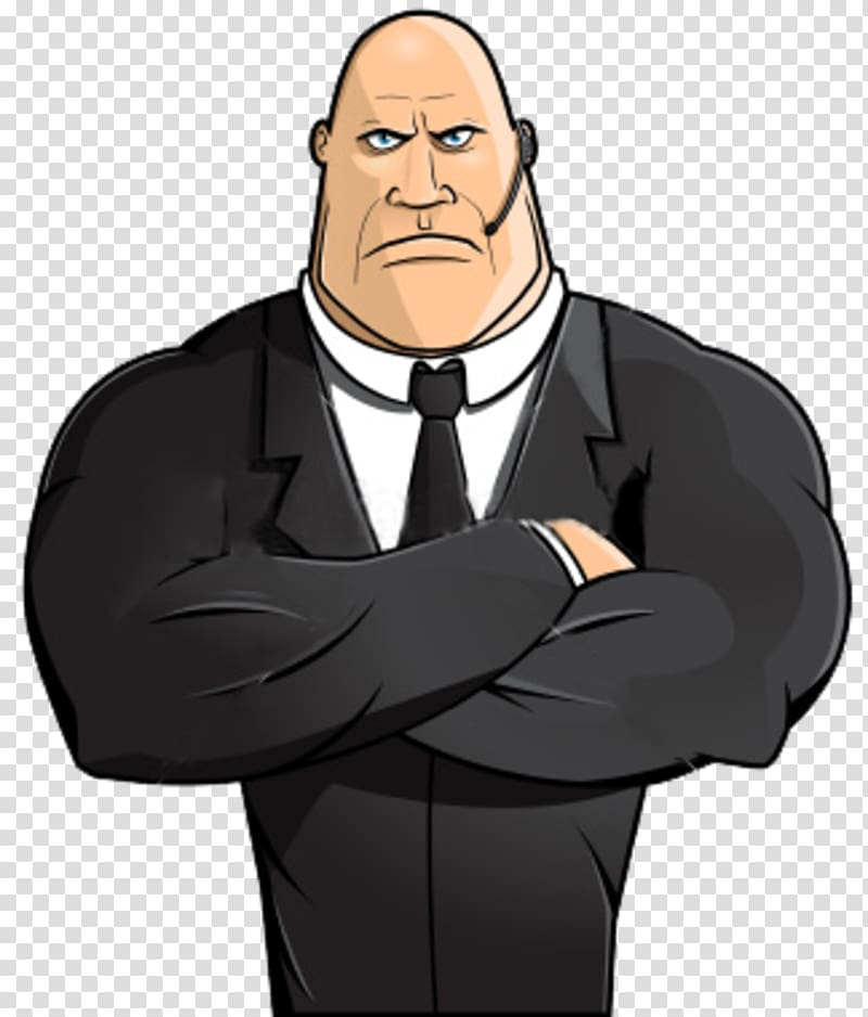 svg freeuse library Guard clipart bodyguard. The bouncer security transparent