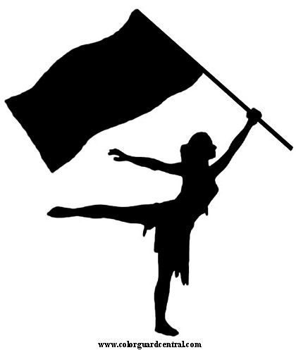 vector transparent library Guard clipart silhouette. Flag is the one