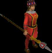 picture download Guard clipart uniform shirt. Queen s outfit runescape