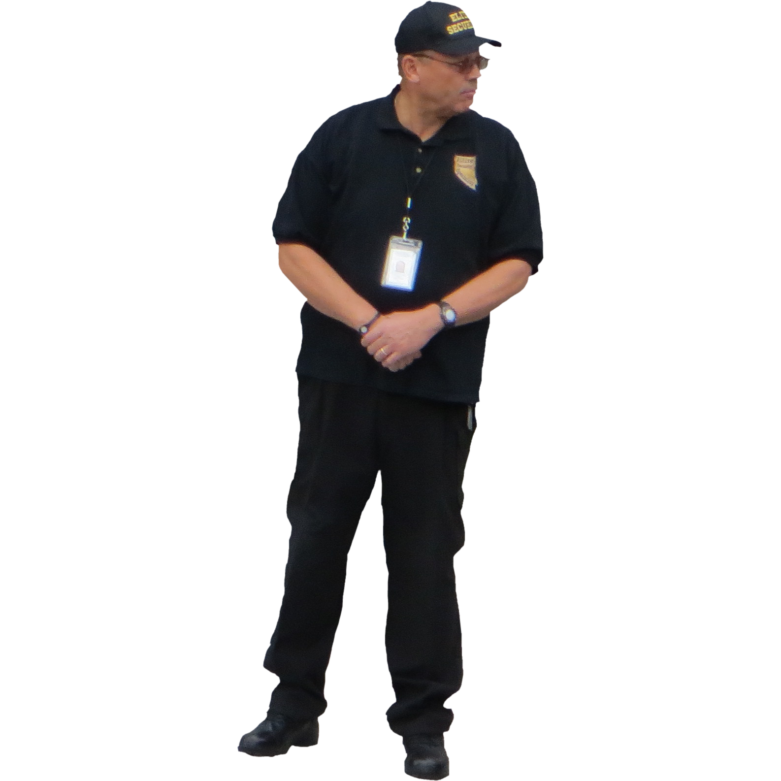 clipart transparent download Guard clipart uniform shirt. Png background image mart