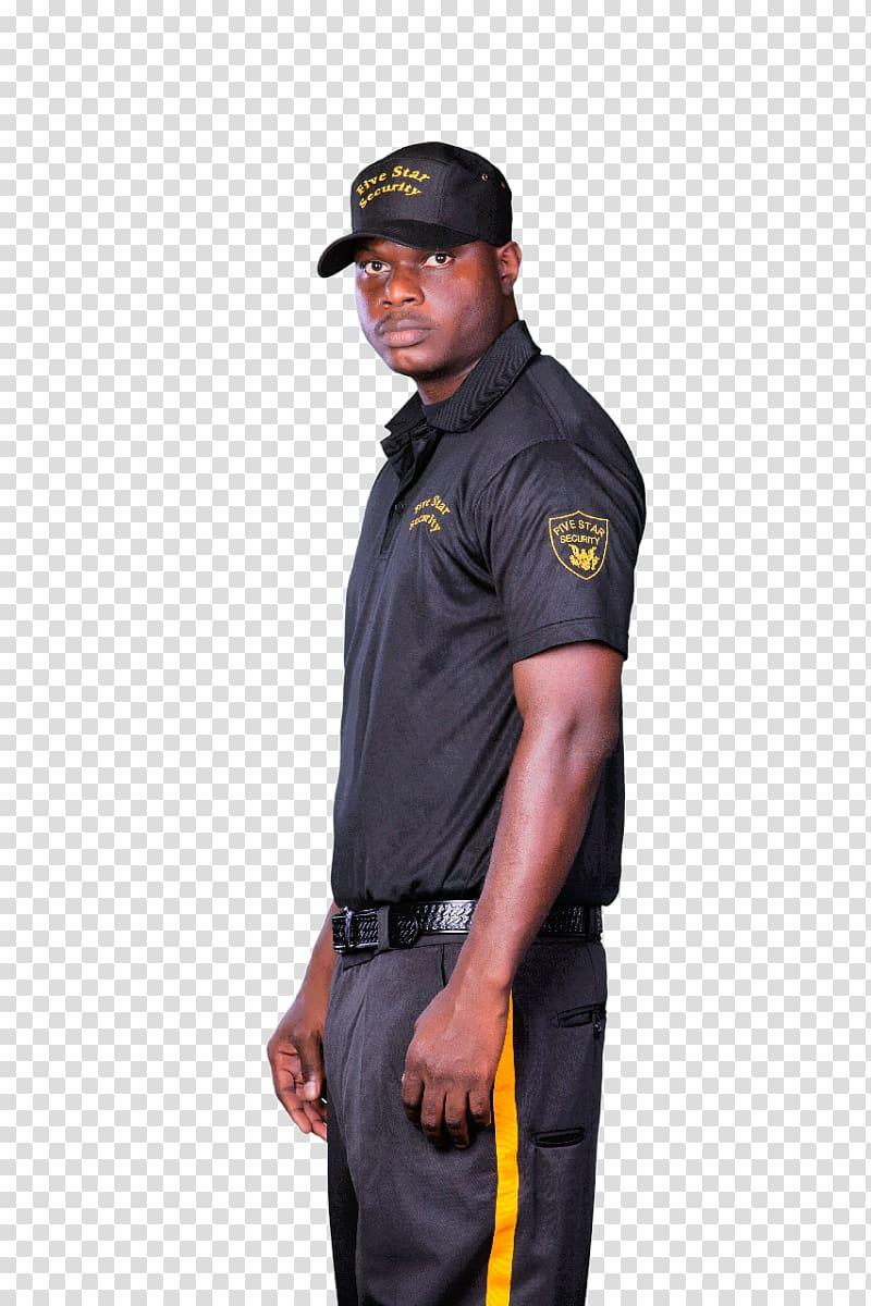 png transparent download Security police officer transparent. Guard clipart uniform shirt