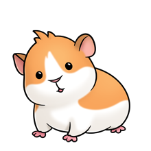library guinea pig illustration