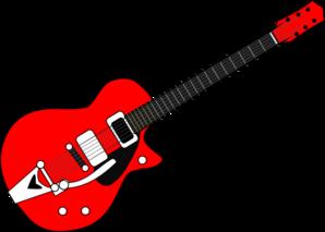 banner transparent download Guitar clipart. Clip art at clker