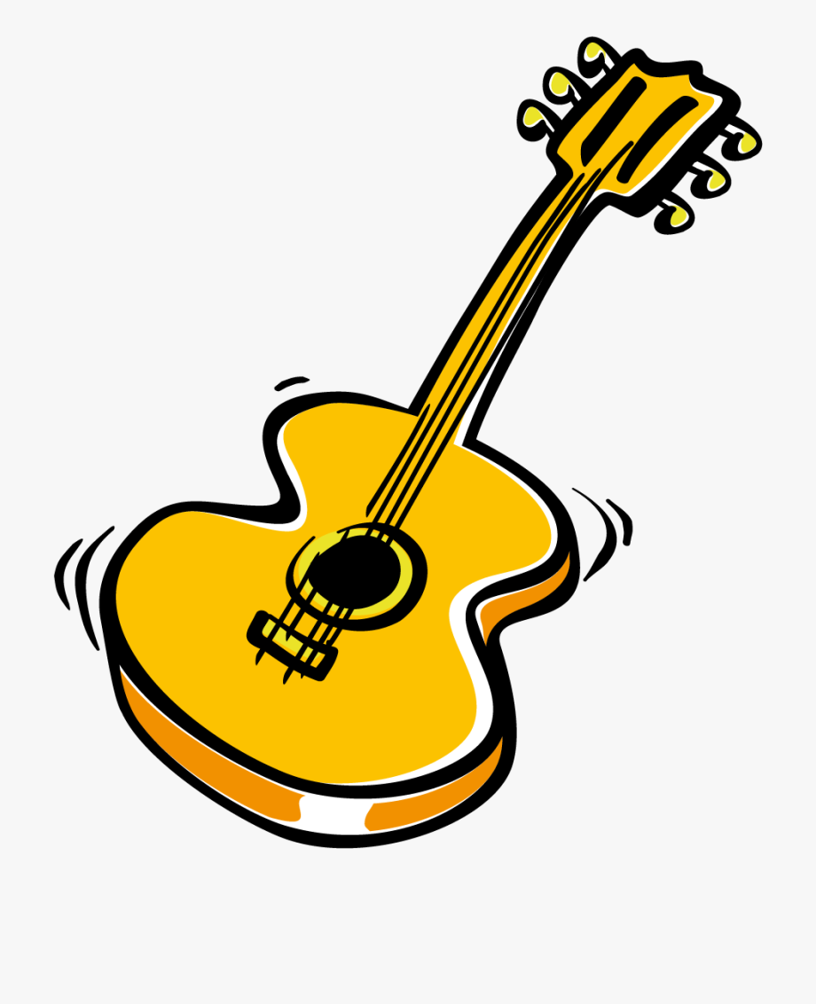 clip art royalty free library Guitar clipart. Italy gitarre transparent cartoon