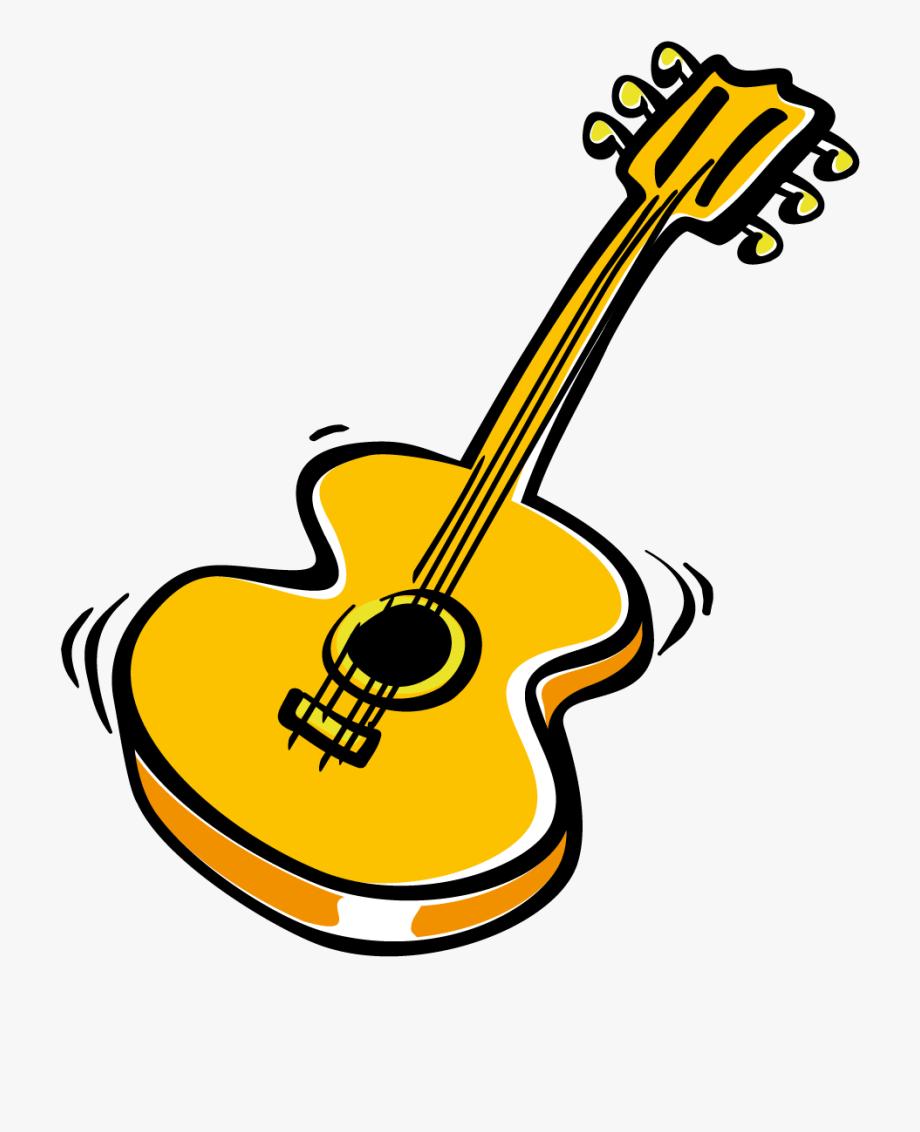 clip art royalty free library Guitar clipart. Italy gitarre transparent cartoon.