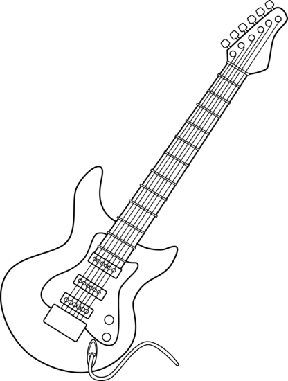 jpg transparent download Guitar clipart black and white.  collection of bass