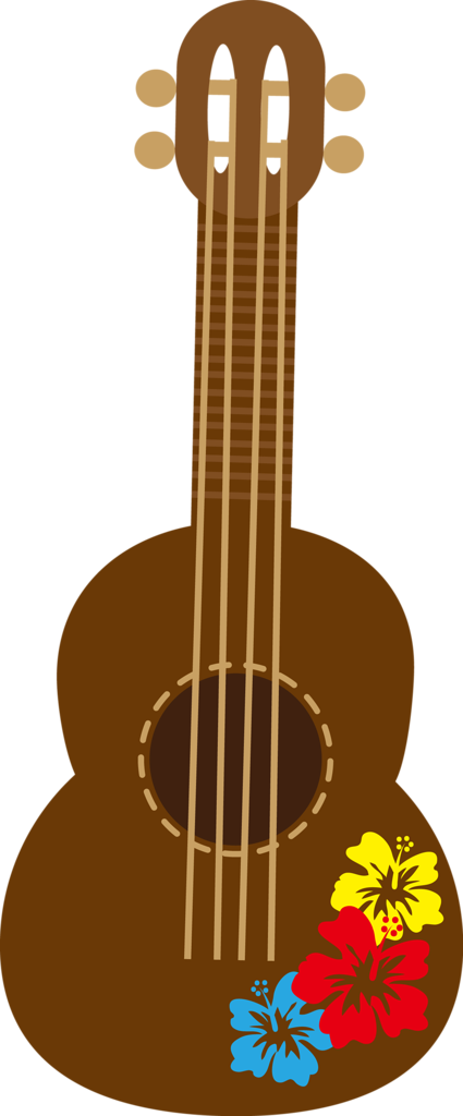 clip transparent stock Cg png pinterest hawaiian. Guitar clipart fiesta