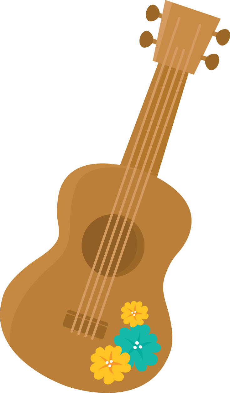 clip art transparent download Guitar clipart fiesta. Aloha minus hawaiana pinterest