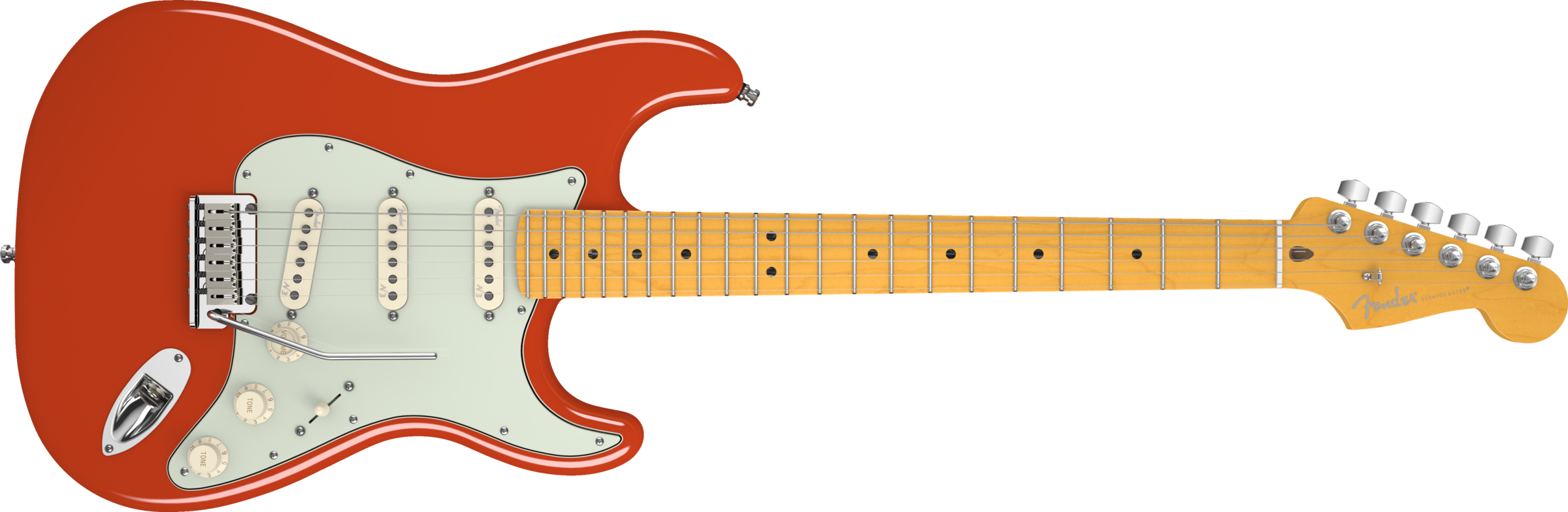 png royalty free stock American deluxe stratocaster v. Guitar clipart fiesta