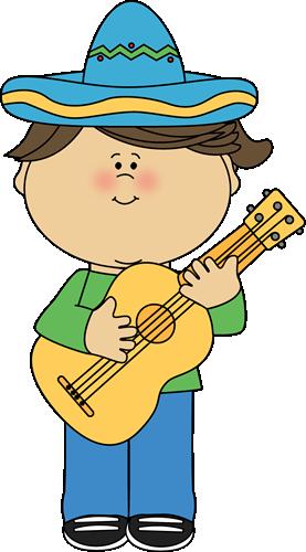 royalty free download Guitar clipart guitar class. Cinco de mayo girl