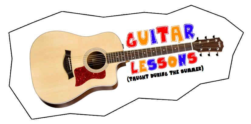 royalty free Guitar clipart guitar class. Lessons catholic religion teacher