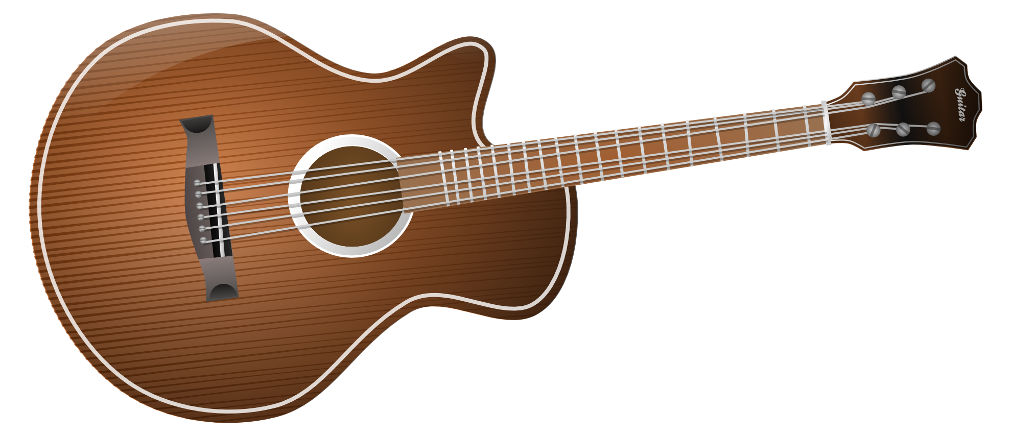 vector royalty free Guitar clipart rockabilly. Png image
