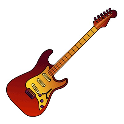 vector freeuse Guitar clipart. Free electric download clip.