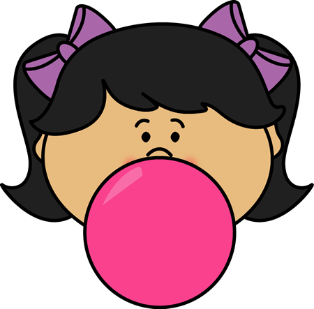 clip art library stock Gum clipart cartoon character. Chewing bubble pencil and