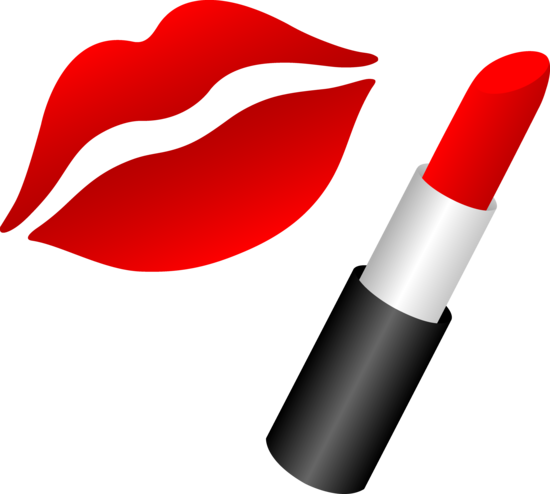 jpg free library Red lips and journals. Lipstick clipart melted lipstick.
