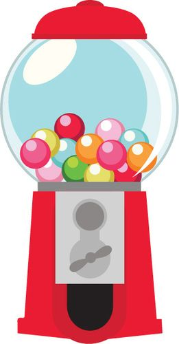 png library download Gum ball clip art. Gumball machine clipart.