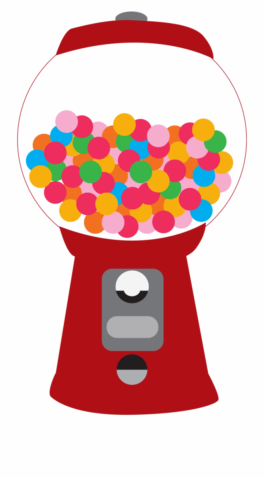 image freeuse library Gumball machine clipart. Download for free png.