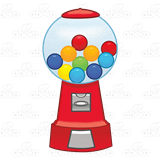 clip art free library Abeka clip art red. Gumball machine clipart