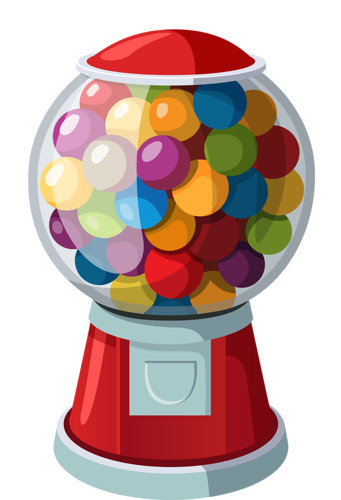 picture download  pinterest and clip. Gumball machine clipart.
