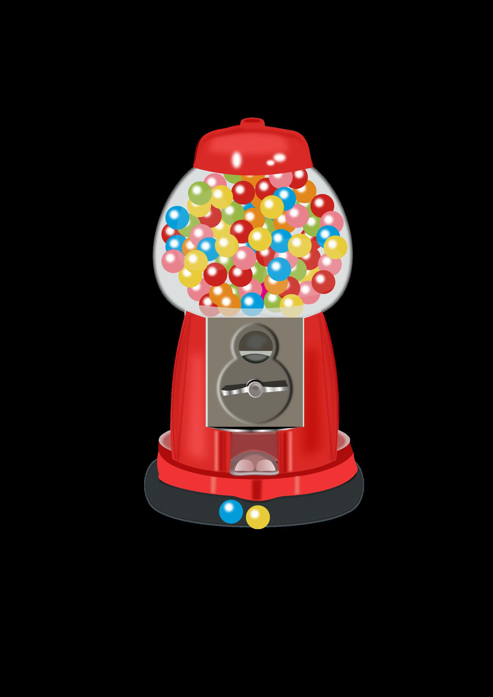 clip transparent Gumball machine clipart. Big image png