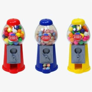 svg freeuse Dubble dispenser little . Gumball machine clipart bubble gum