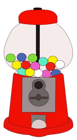 clipart library stock Gumball machine clipart bubble gum. Free download best