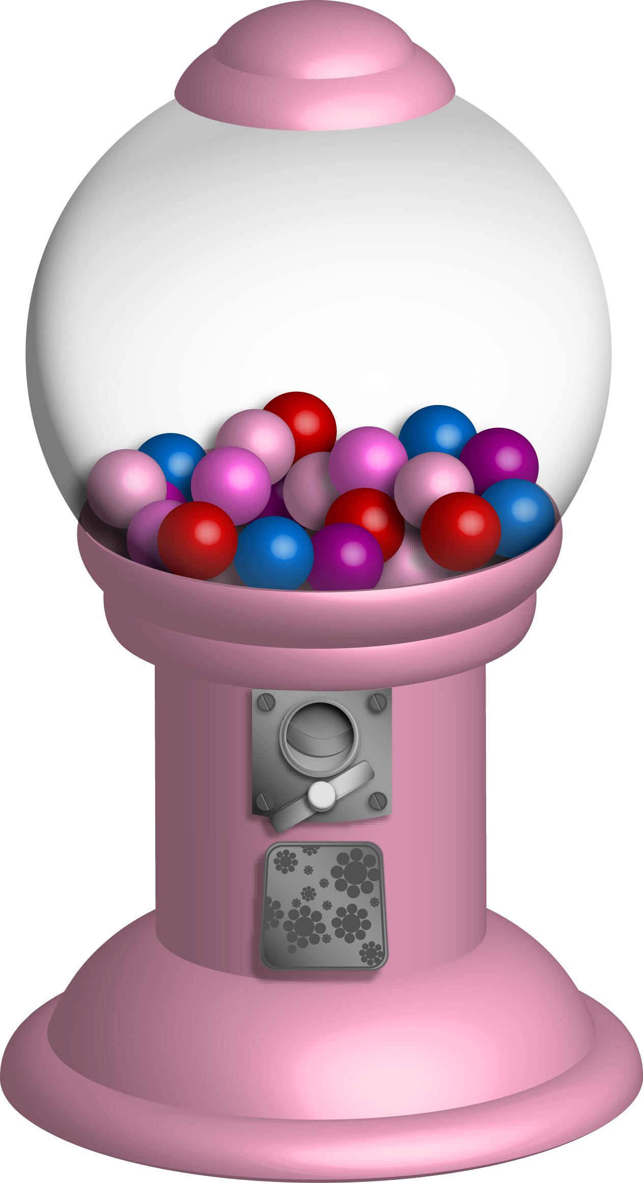 picture free stock Gumball machine clipart coloring page. Echoia com illustration download
