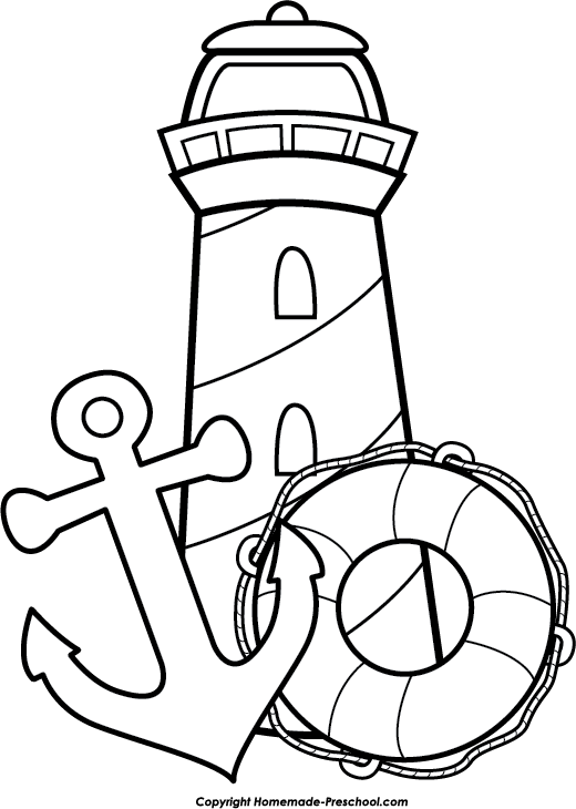 image royalty free library Lighthouse sheets yahoo image. Gumball machine clipart coloring sheet