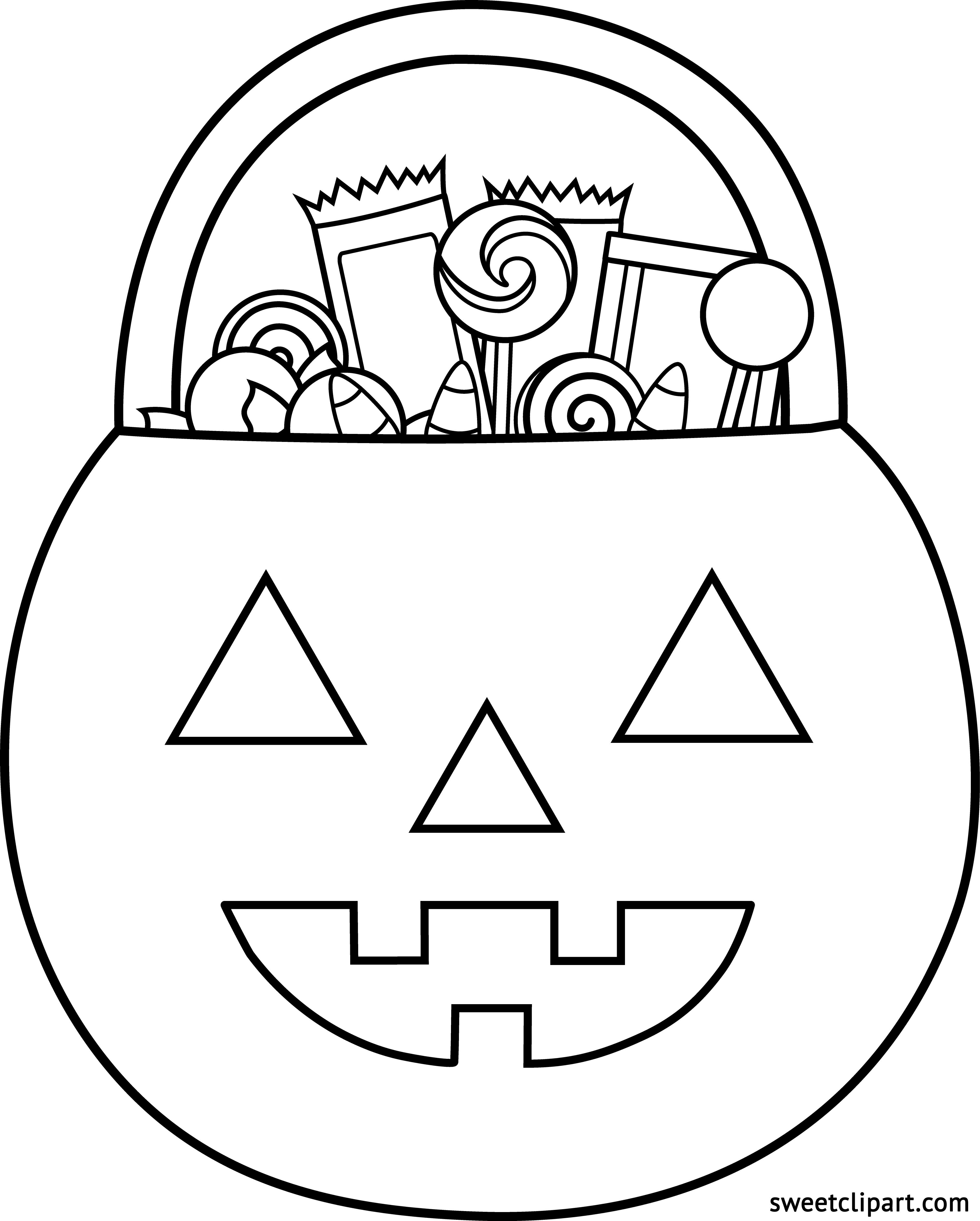 svg download Gumball machine clipart coloring sheet. Halloween pumpkin candy page