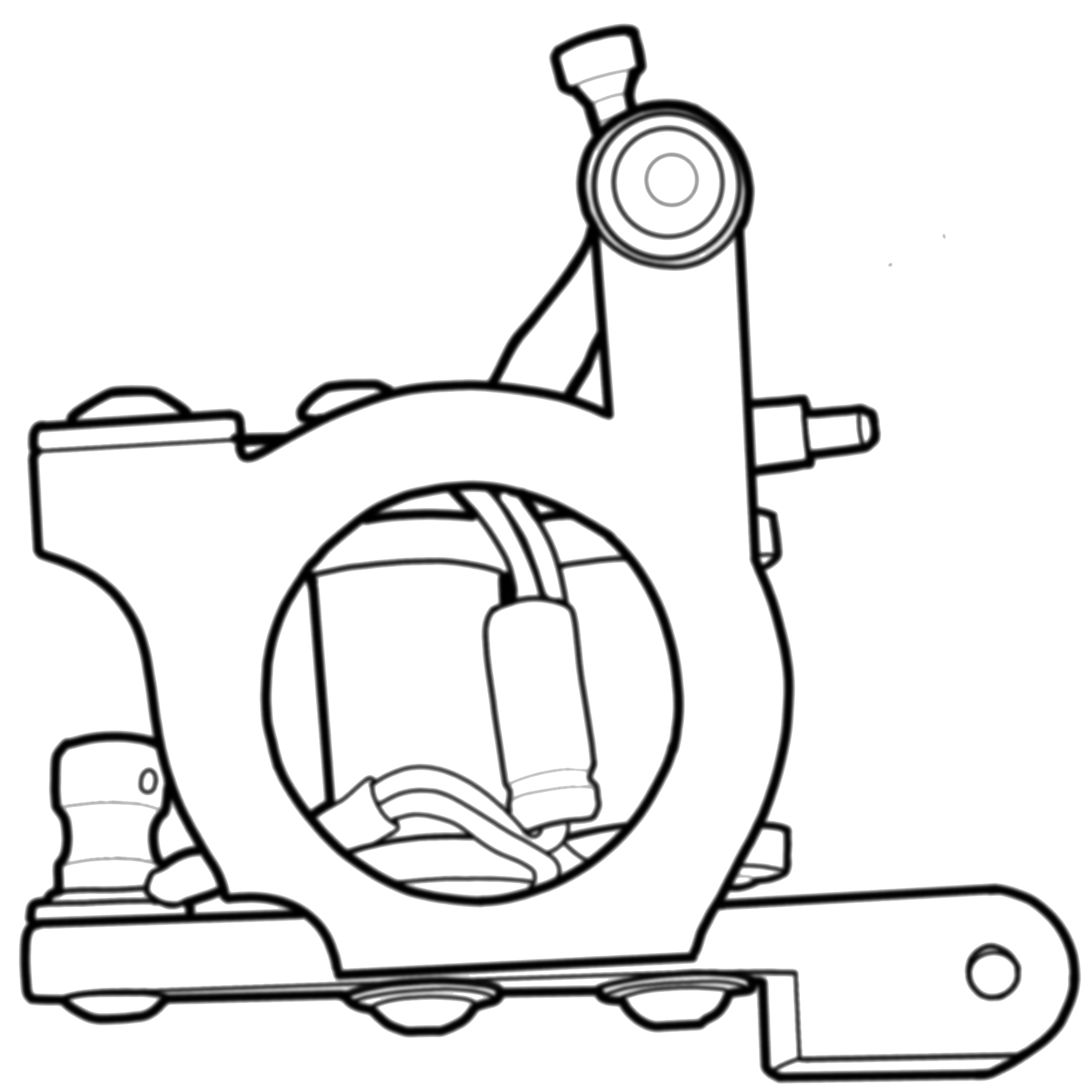 jpg free download Tattoo drawing at getdrawings. Gumball machine clipart outline