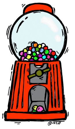 image free library Drawing free download best. Gumball machine clipart retro