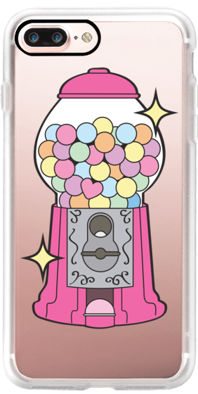 picture freeuse library Take a chance pink. Gumball machine clipart retro