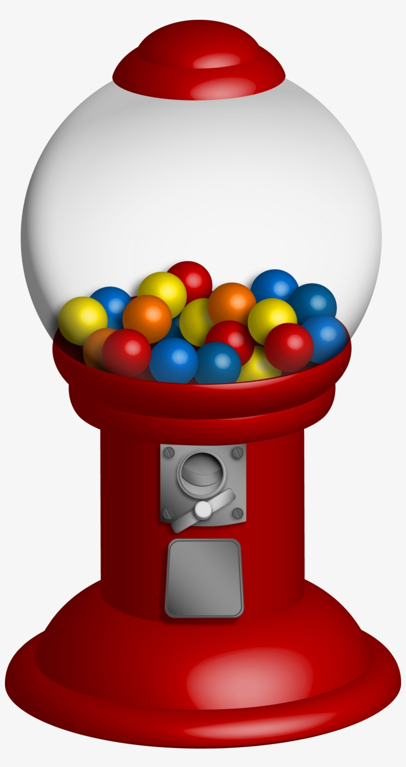 image stock Gumball machine clipart retro. Bubble gum png free