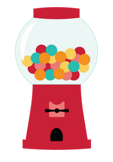 clip free download Gumball machine clipart svg. Pink bubble gum clip