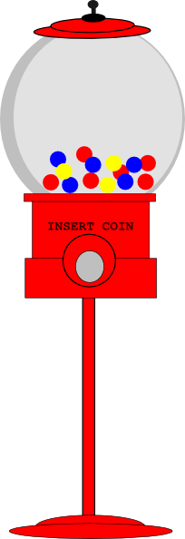 clip art stock Gumball machine clipart svg. Bubble gum clip art