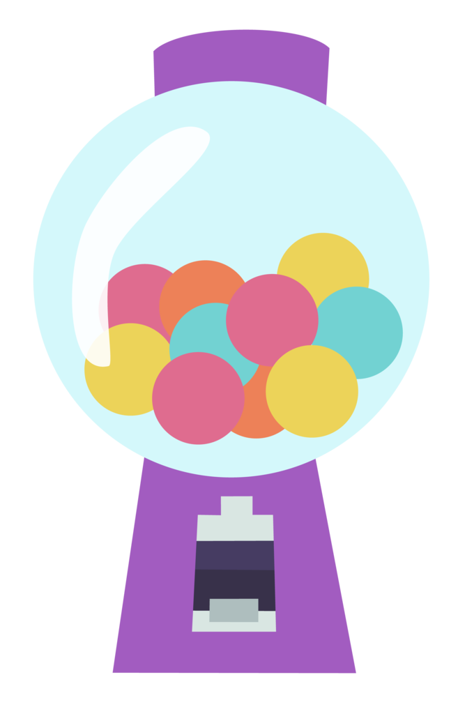 vector transparent library  absurd res artist. Gumball machine clipart svg