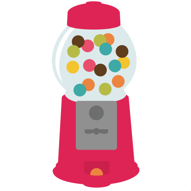 jpg transparent library Gumball machine clipart sweet. Free png transparent images