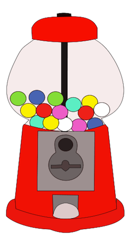 jpg download Free cliparts download clip. Gumball machine clipart.