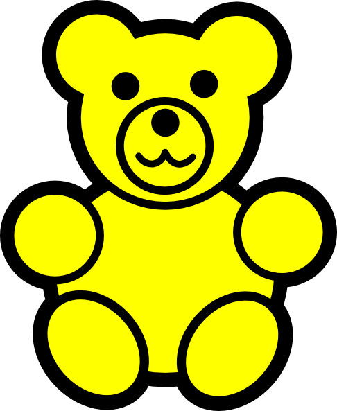 clipart black and white Bear clipart free. Gummy counting on dumielauxepices