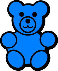 svg free Gummy clipart colorful bear. Image result for printable
