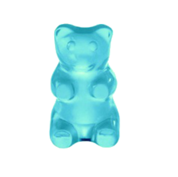 svg black and white library Vector candy gummy. Blue bear png free