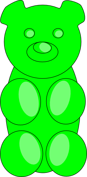 banner free Transparent png pictures free. Gummy bear clipart