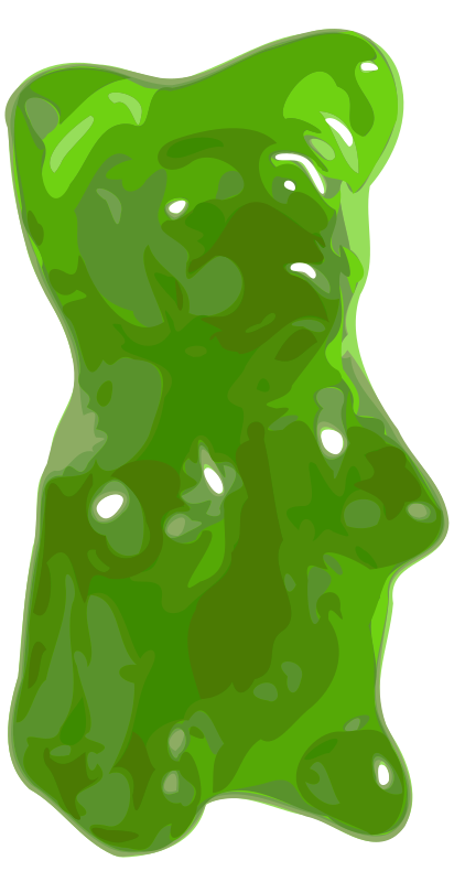 clip art library stock Gummy clipart gummy candy. Halloween medium image png