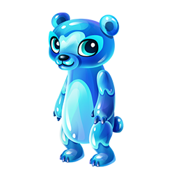 banner royalty free library Gummy clipart handful. Bear fantasy forest story