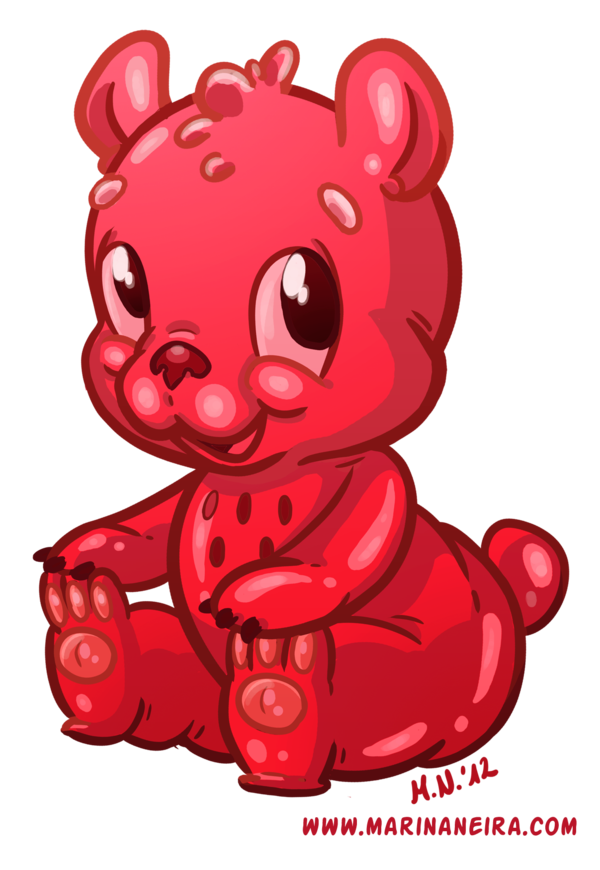clip royalty free Gummy bear clipart. By marinaneira on deviantart