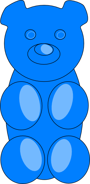 picture freeuse download Bear svg free on. Gummy clipart little