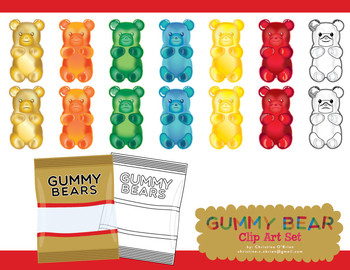 clipart library download Bear clip art food. Gummy clipart one